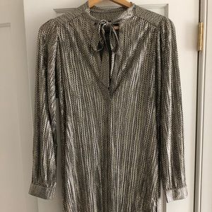 Anthropologie Christmas Party Dress